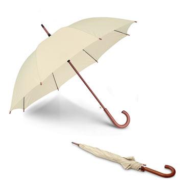 Paraguas automático de madera