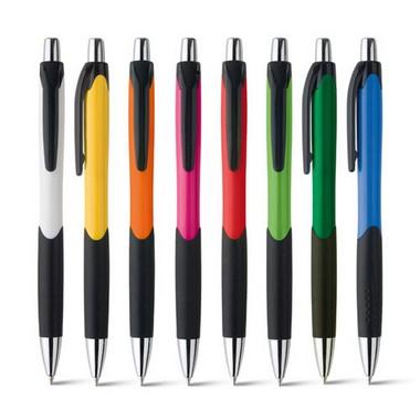 Bolígrafo plástico en 8 colores