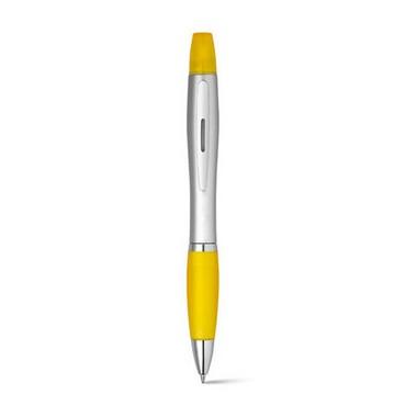 Bolígrafo y rotulador fluorescente pik