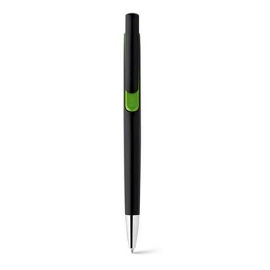 Bolígrafo plástico negro