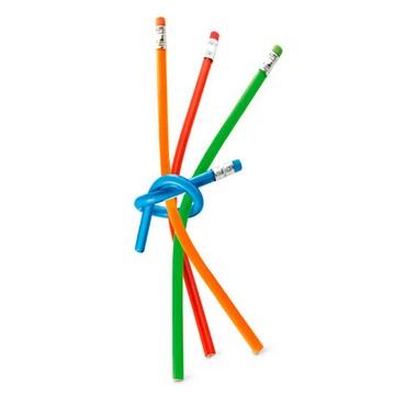 Lápiz flexible con goma 30 centímetros