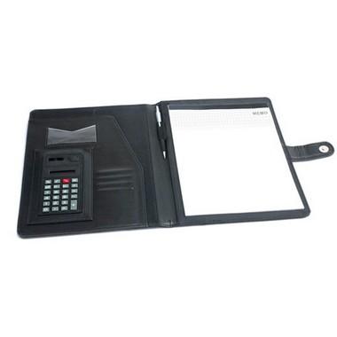 Portafolios con calculadora y bloc