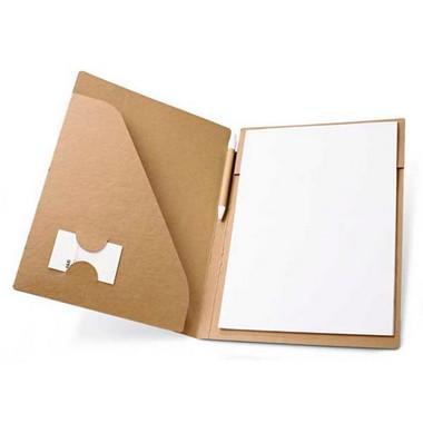 Portafolios cartón A4 ecológico.