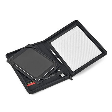 Portafolios A4 con soporte tablet