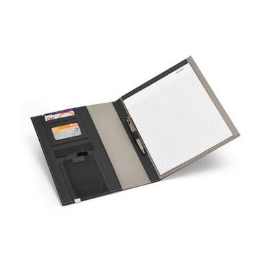Portafolios A4 de polipiel y metal