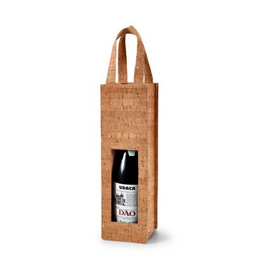 Bolsa para 1 botella de vino.