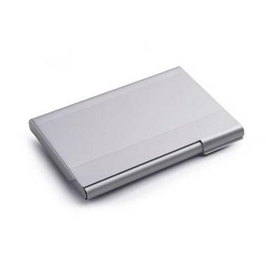 Porta-tarjetas aluminio.