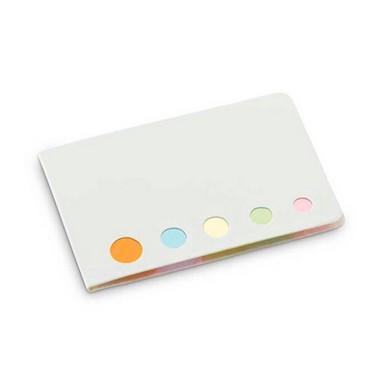 Bloc de post-it en 5 colores