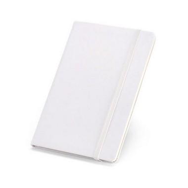 Bloc de notas A5 con tapa rígida y bolsillo interior