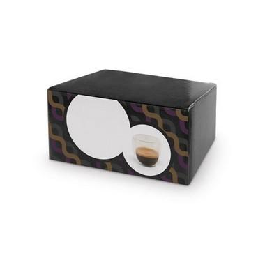 Set de tazas de café con caja