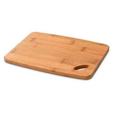 Tabla de bambú lisa para cortar quesos