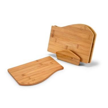 Set de tablas en bambú, cocina.