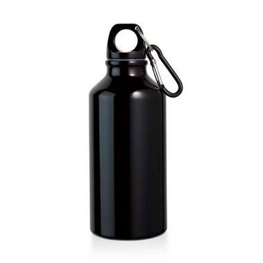 Botella de aluminio con mosquetón