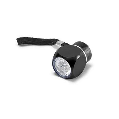 Linterna aluminio mini 6 leds.