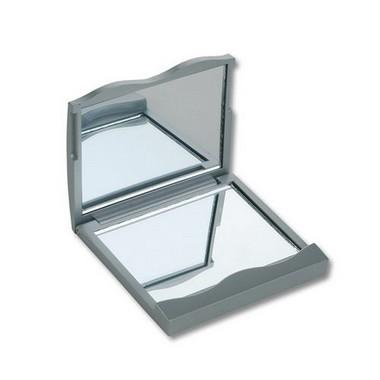 Espejo doble plástico maquillaje