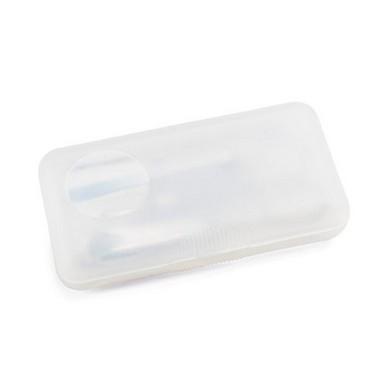 Set de manicura plástico, 4 piezas metal