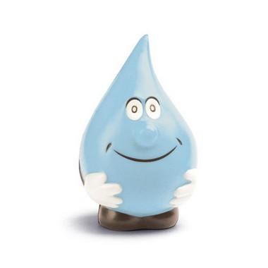 Antiestrés forma gota agua.