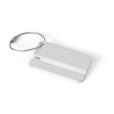 Identificador de maletas aluminio.