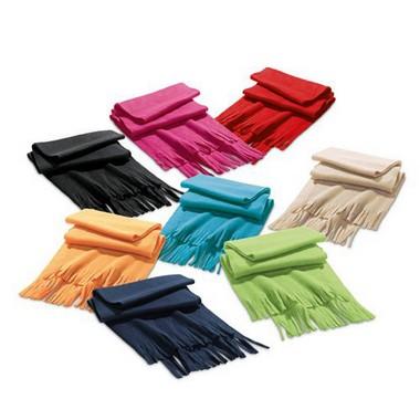 Bufanda polar en 8 colores.
