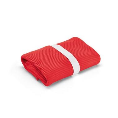 Manta polar en color rojo
