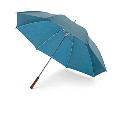 Paraguas de golf mango recto de madera,.
