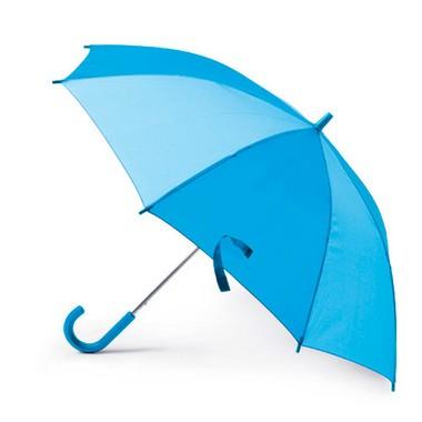 Paraguas para infantil azul bicolor