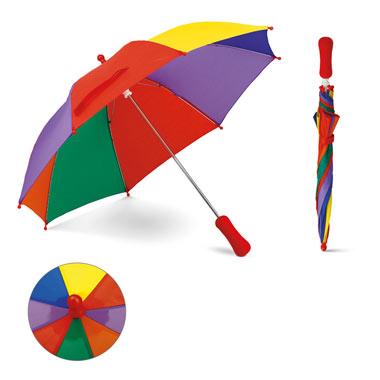 Paraguas multicolor Bambi