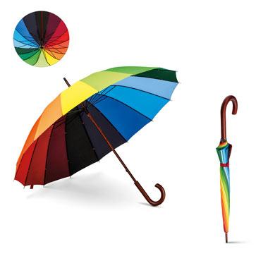 Paraguas arcoiris Duha