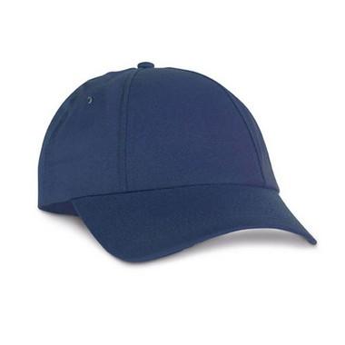Gorra de béisbol 6 paneles con velcro.