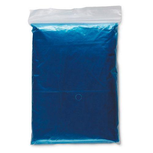 Impermeable plegable con capucha