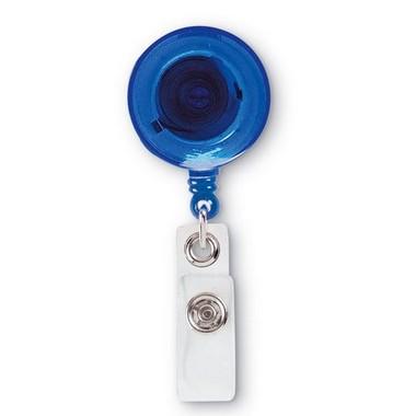 Insignia con clip transparente