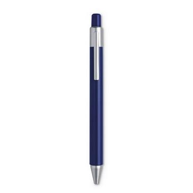 Bolígrafo con pulsador en ABS y tinta azul