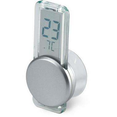 Termometro LCD con ventosa