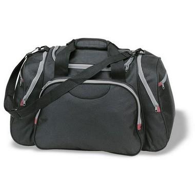 Bolsa de viaje o deporte con múltiples bolsillos
