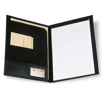 Portadocumentos con bloc de notas A4 y 20 hojas