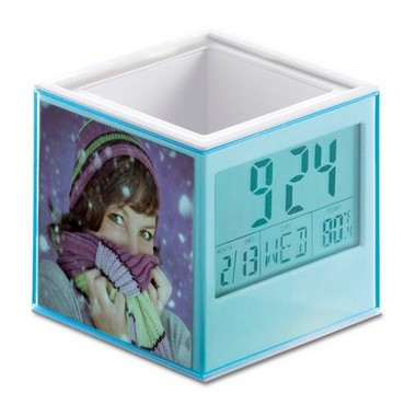 Lapicero en forma de cubo