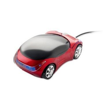 Ratón en forma de coche