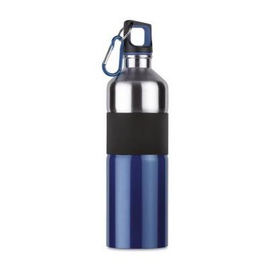 Botella acero bicolor