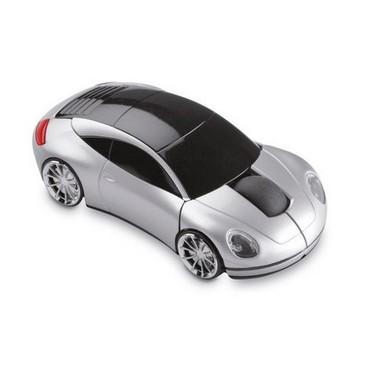 Ratón inalámbrico forma coche