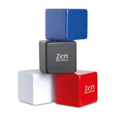 Anti-estrés forma de cubo