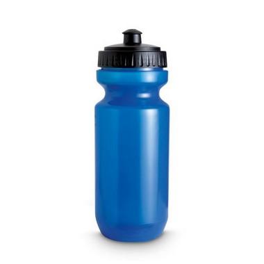 Botella de plástico translúcida
