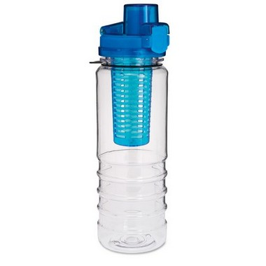 Botella con compartimento para