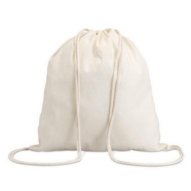 Mochila con cordones 100% algodón