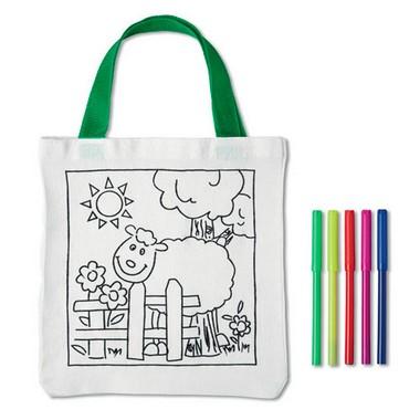 Bolsa para colorear de algodón Mateusz