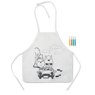 Delantal para colorear Paint&cook