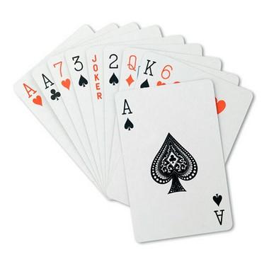 Juego de cartas en caja Aruba