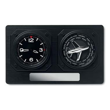 Reloj de sobremesa Jet clock