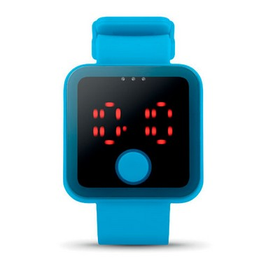 Reloj de LED roja Redtime