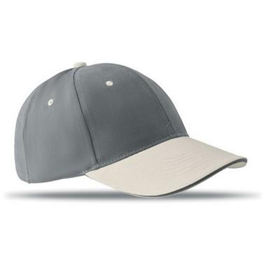 Gorra de beisbol de 6 paneles Sole cap