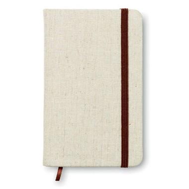 Cuaderno A6 con tapa de canvas Canvas mini